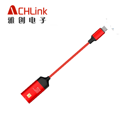 type c to hdmi 手机转高清视频转换线usb3.1 cable type c转HDMI